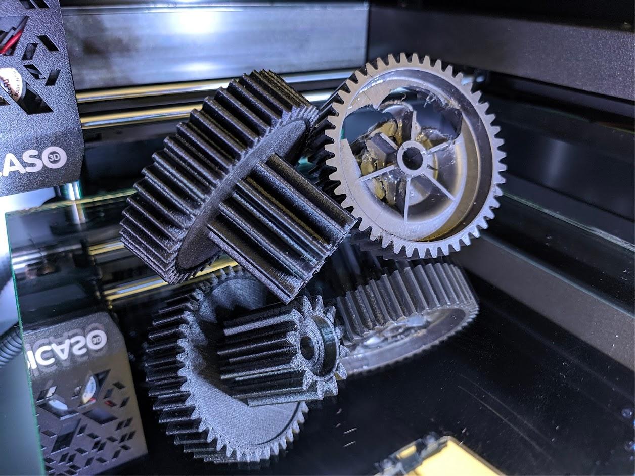 применение 3Д принтера по металлу